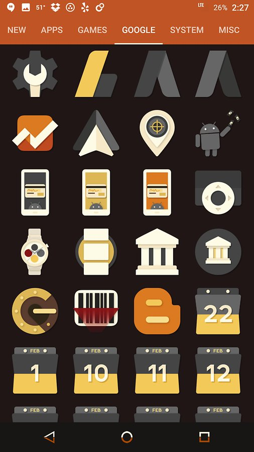 Icon Pack for Android saturate-free-icon-pack