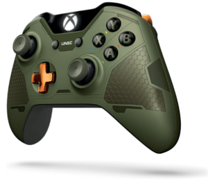Microsoft Limited Edition Halo 5: Guardians Master Chief Wireless Controller image 2