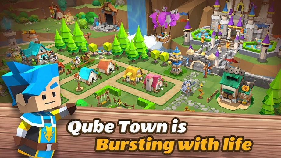 Qube Town Review – Mini Life Simulator Games that will make