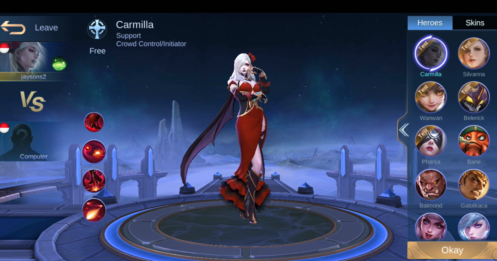 New Hero Carmilla (Support) - General Discussion - Mobile