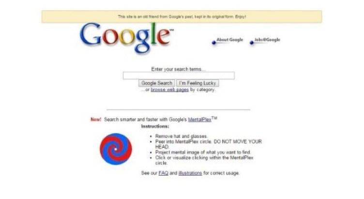 April Fools Prank by Google