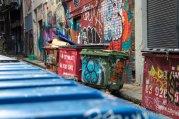 Melbourne Graffiti walls
