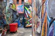 Melbourne Graffiti walls: Croft Alley