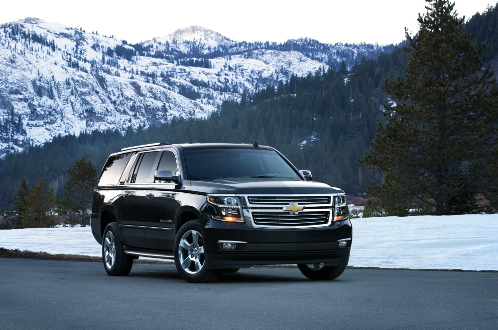 Eighty Two and Counting. 2015 Chevy Suburban (2/4)