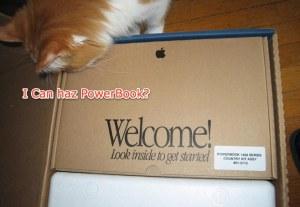 I can haz powerbook?