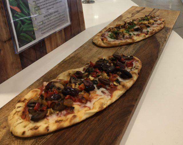 Flatbread pizza, café @ Cornell Tech