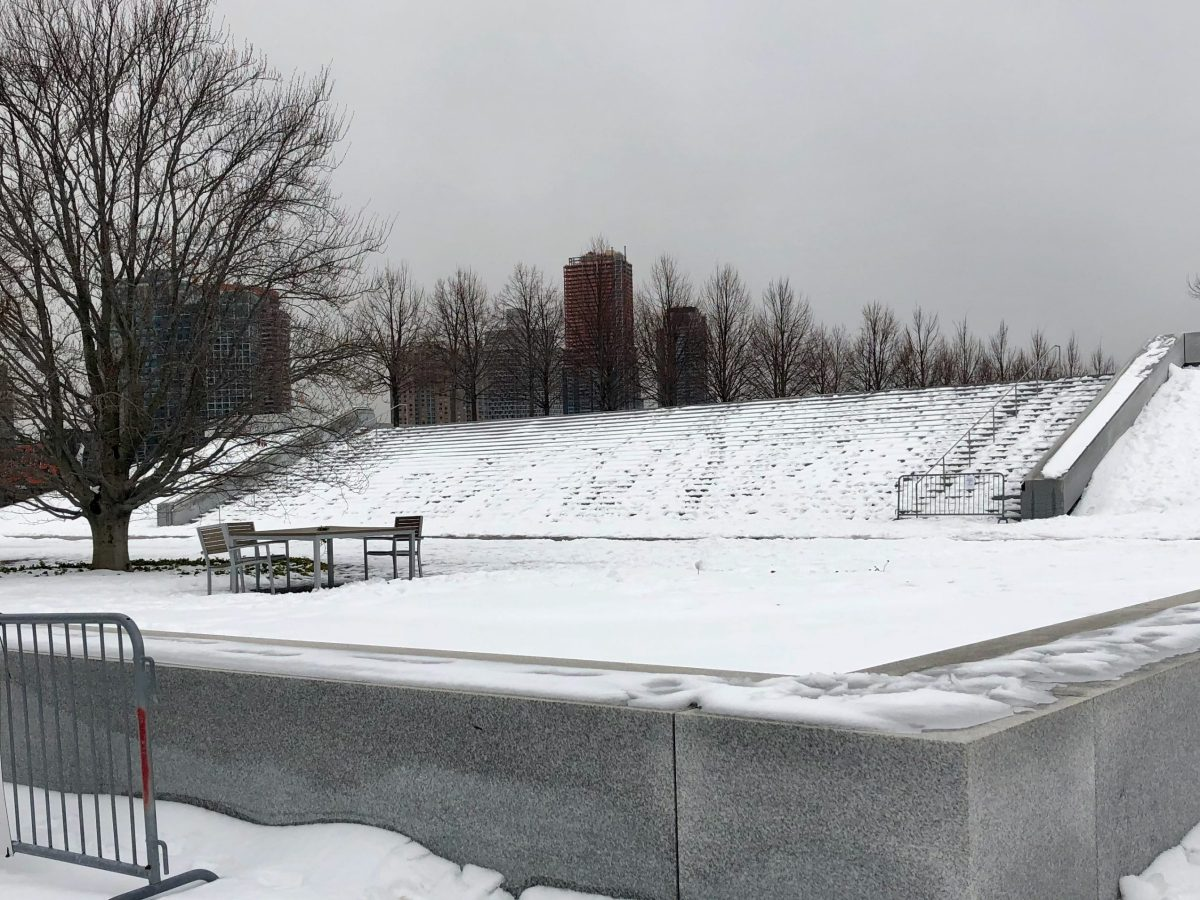 Four Freedoms Park, Late Winter, 2021