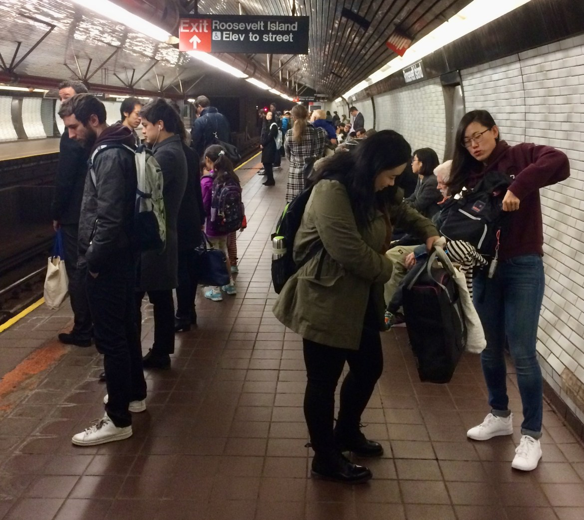 Filthy subway air, NYU finds, adds to the hazards of New York City life