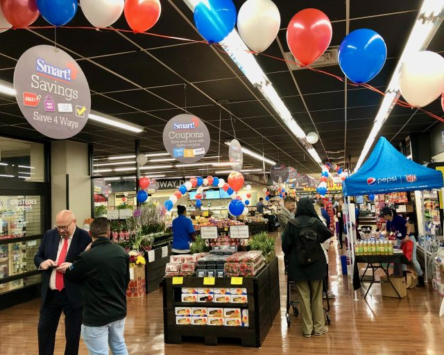 Grand Opening, and now, after one year, a Happy Foodtown Anniversary.