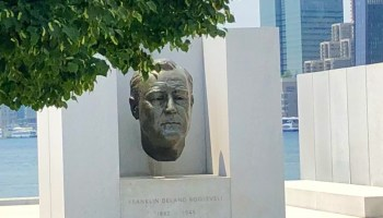 FDR Bust - Four Freedoms State Park