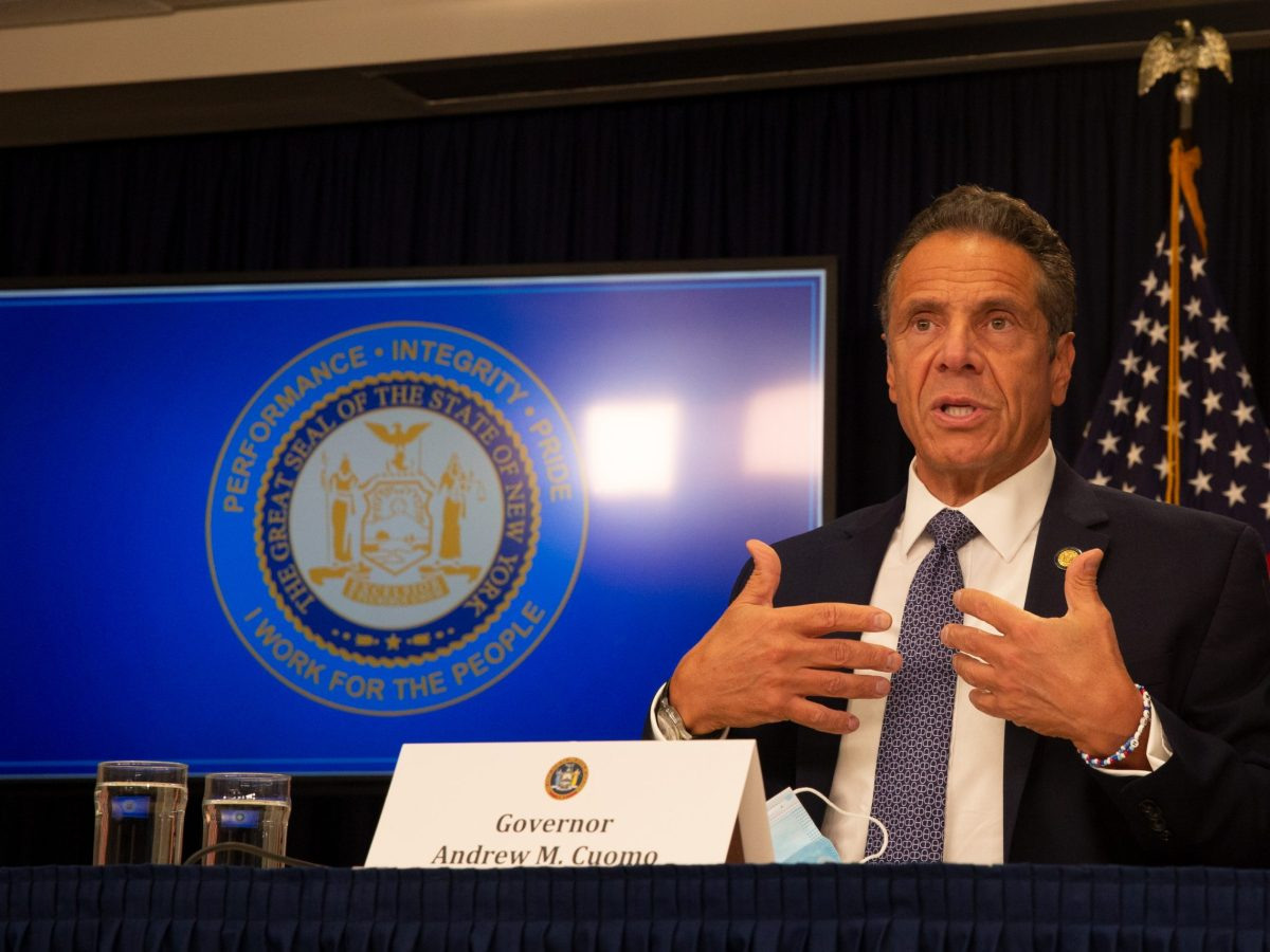 Andrew Cuomo, photo by Ben Fractenberg, The CITY