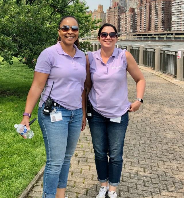 Erica Spencer-EL, Jessica Cerone, RIOC Community Relations