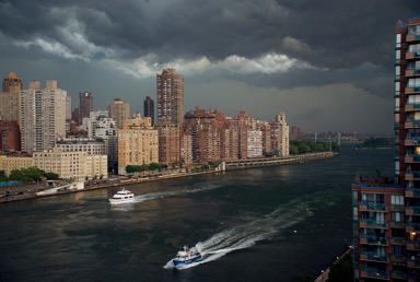 Racing the Storm, Roosevelt Island