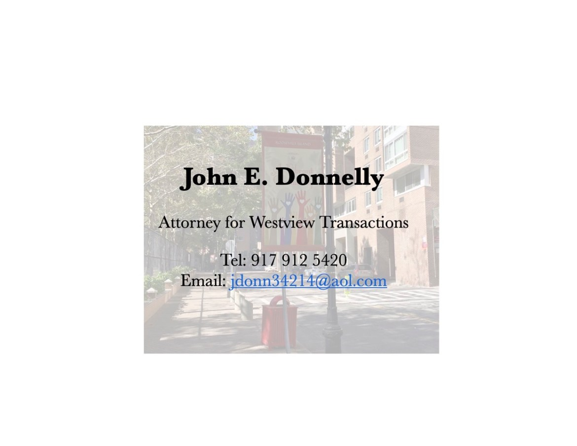 Attorney for Westview Transactions