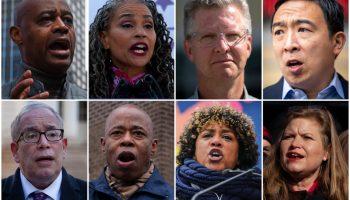 New York Mayor Candidates 2021