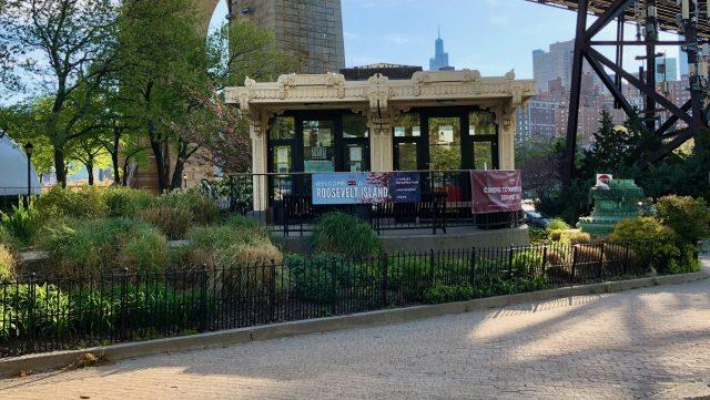 Roosevelt Island Historical Society Kiosk