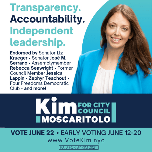 Daughter of a refugee, Emmy winning journalist, political activist – Kim Moscaritolo wants your vote for City Council