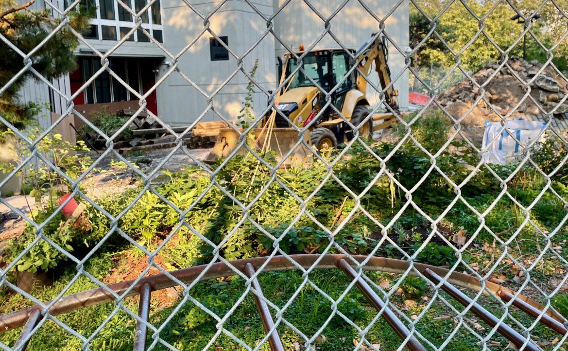 Paving Over History, RIOC Obliterates the NYPL Garden