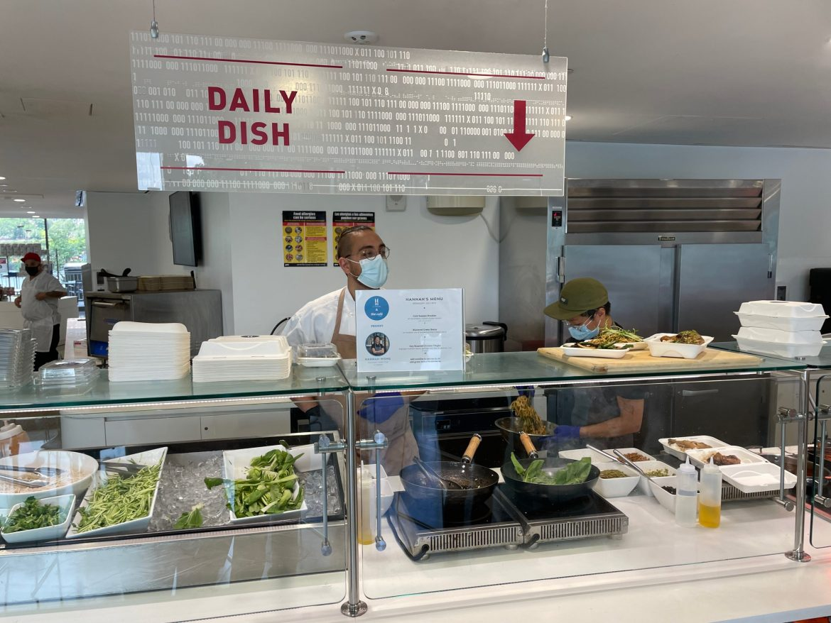 In Partnership: 1:1 Joins the Café, Bringing Food Justice to Cornell Tech and Roosevelt Island