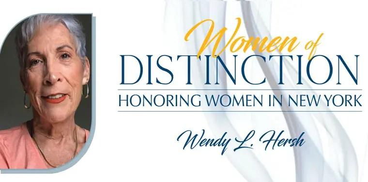 Roosevelt Islander Wendy Hersh Gets Women of Distinction Nod from Senator Serrano