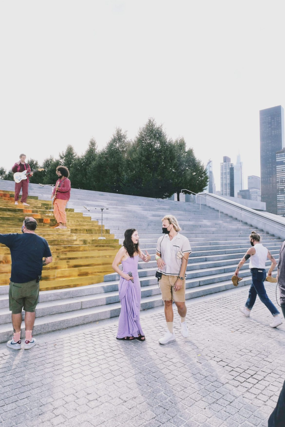 Behind the Scenes in Global Citizen Live at Four Freedoms Park