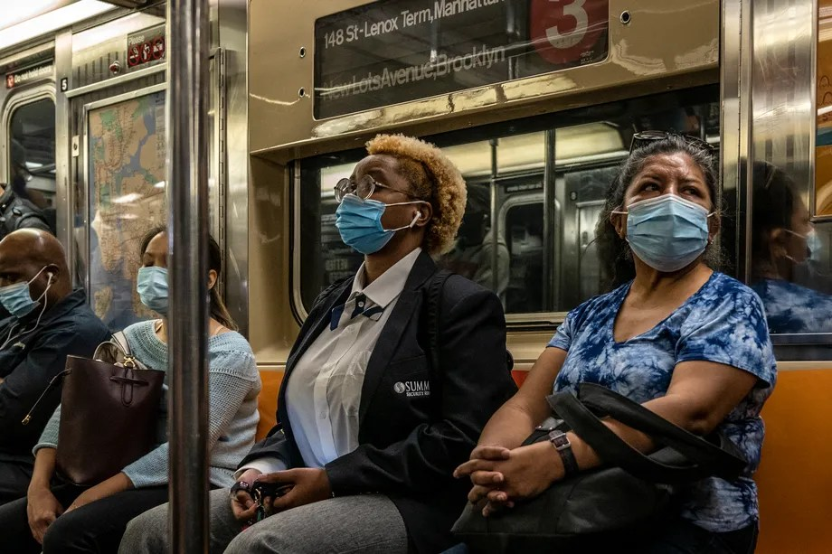 No NYC Subway Riders Got Fined for Defying Mask Mandate in August