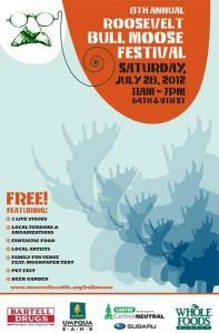 Bull Moose Festival 2012 Poster