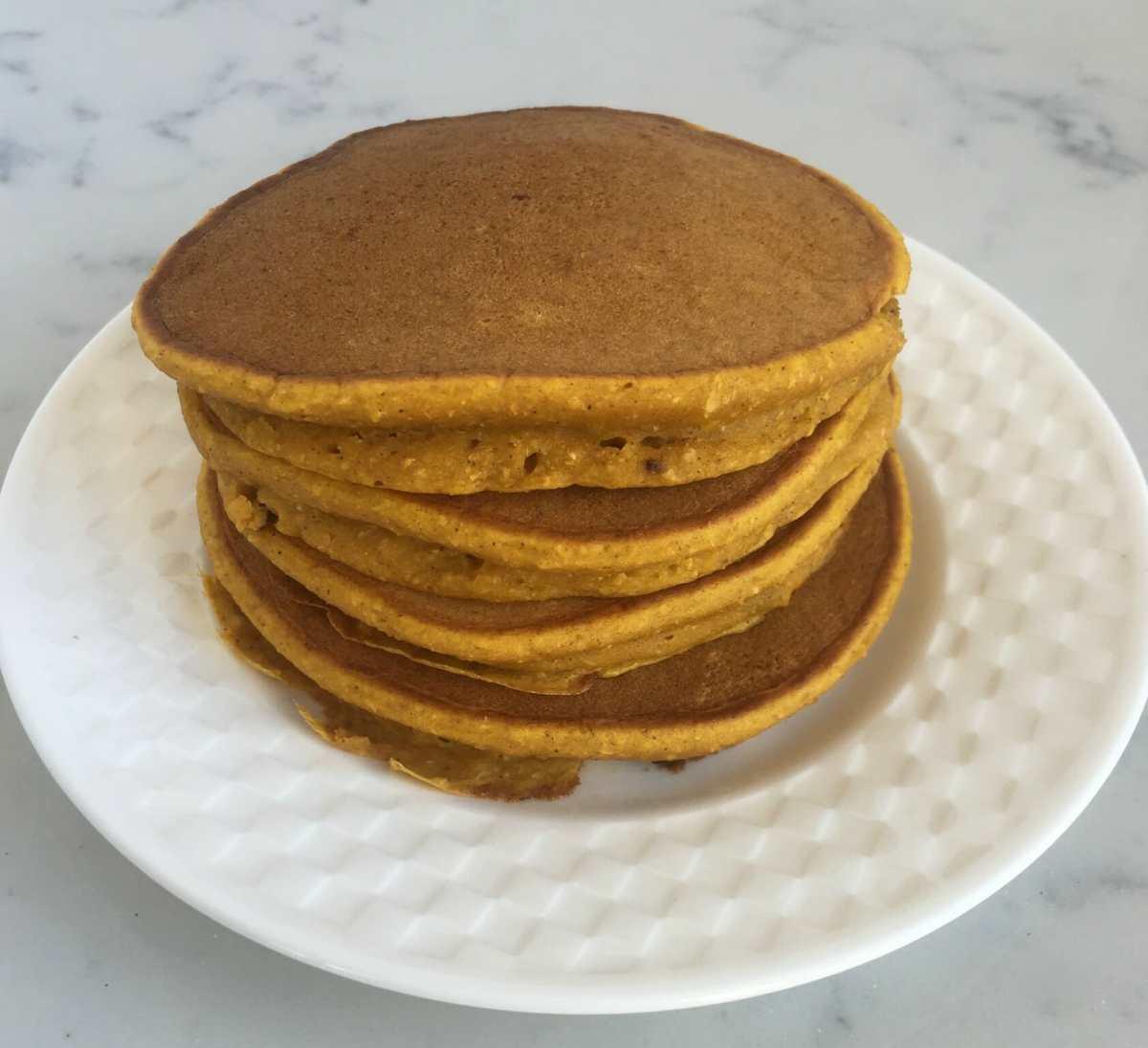 Pumpkin Chai Pancakes