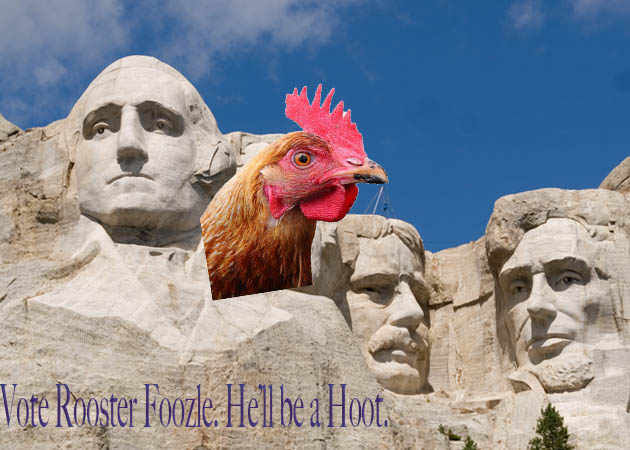 A Gallery of Rooster Foozle Propaganda!