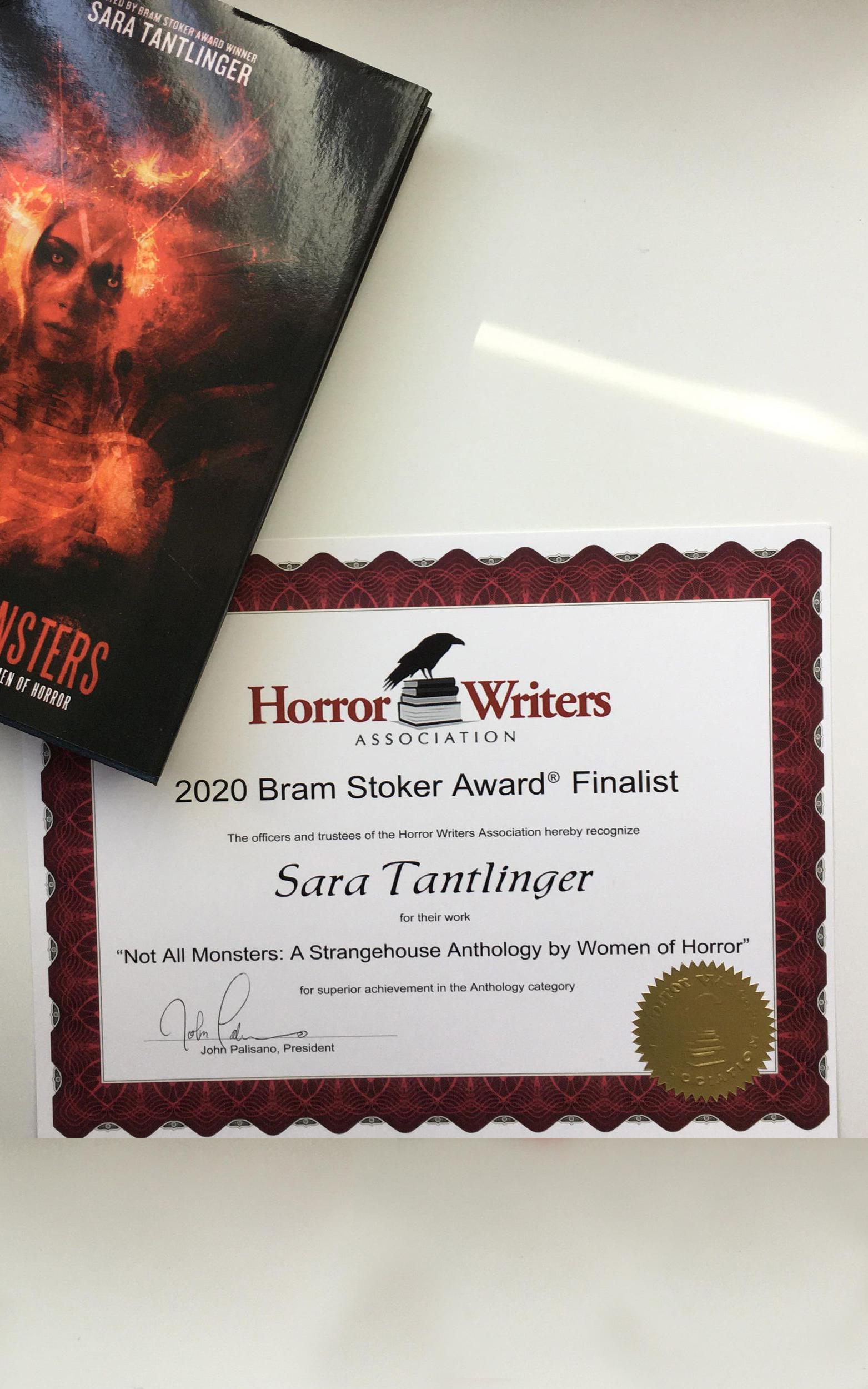 Stoker Award Finalist NOT ALL MONSTERS