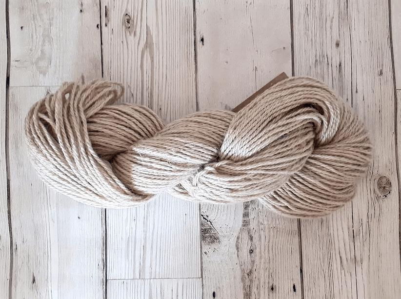 Organic Wool Linen Aran