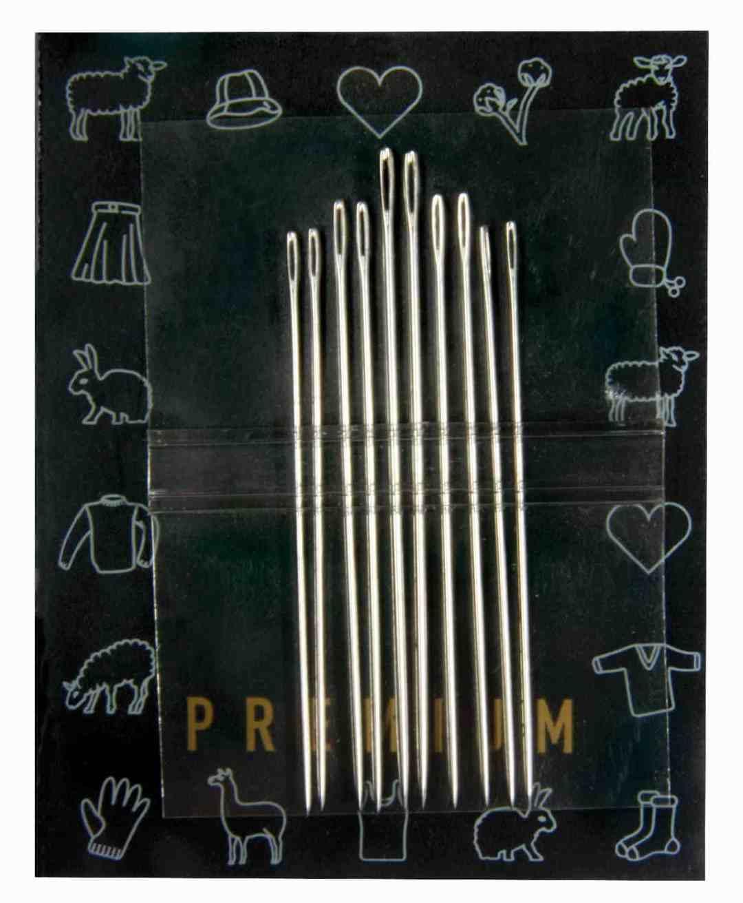 902-7 10 Assorted Darning Needles