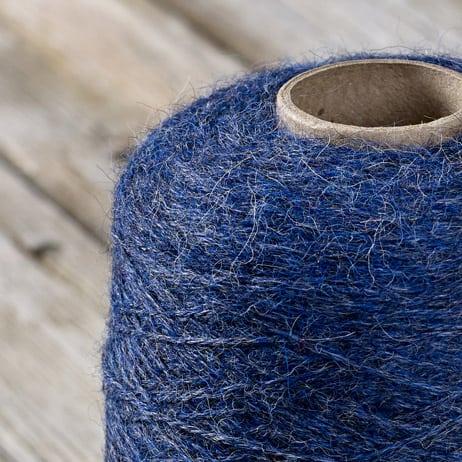 C302 Marine blue cone yarn
