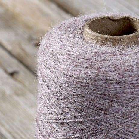 C308 Mauve cone yarn