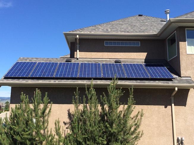 Demo Solar Unit Vernon BC 3