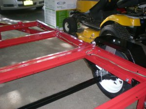 Folding 4x8 flatbed assembly [pics]  MyTractorForum
