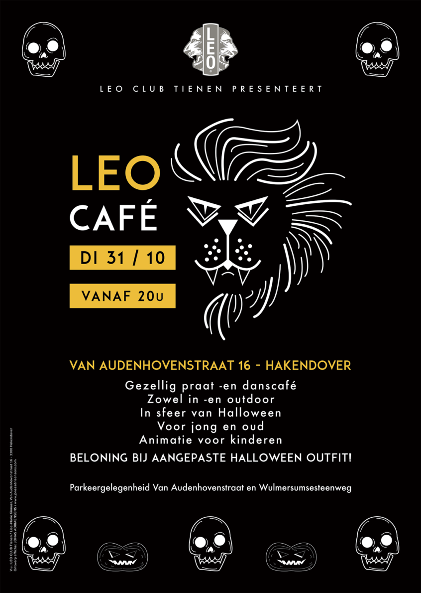 LeoCaféAffiche Leo Club