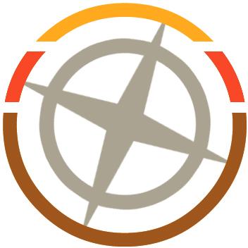 You Are An Explorer compass logo