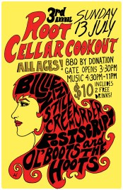 Root Cellar Cookout poster