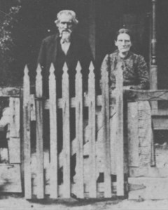 Grandpa and Grandma Douglas, early 1900s, Murphysboro, IL