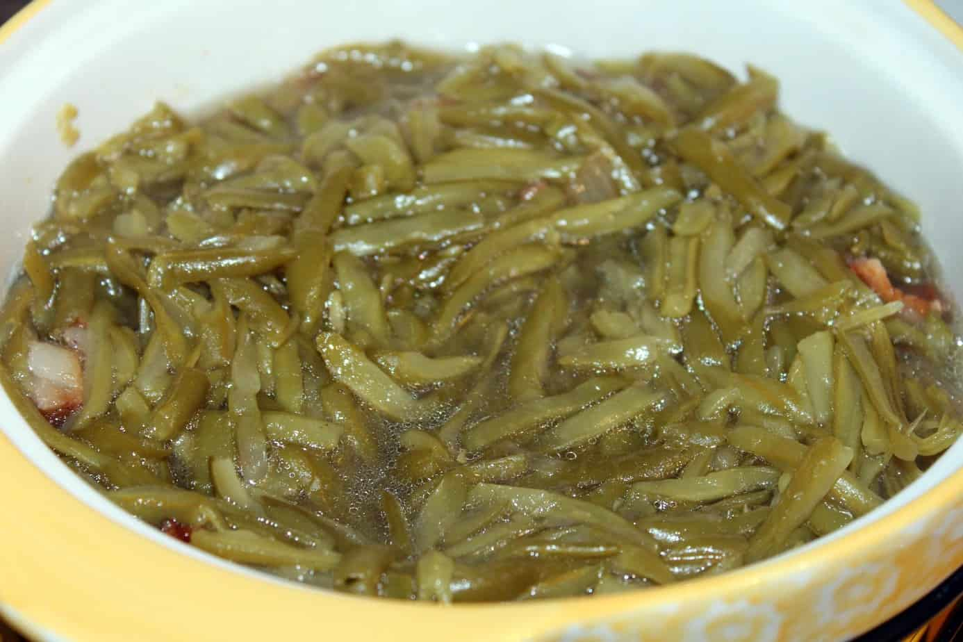 Sweet and sour green bean recipe