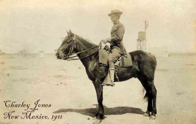 Charley E. Jones, Troop C US 4th Cavalry