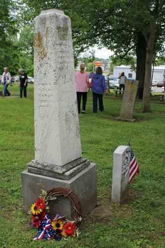 Daniel Harmon Brush grave