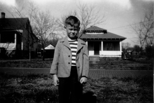 My dad, Joe Moore, at age 5