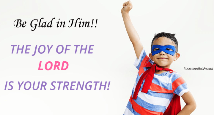 Be Glad in Him!