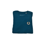 Folded up Rooted Ocean Heritage Tee