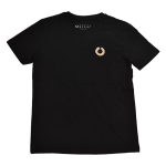 The Rooted Ocean Heritage tee in black