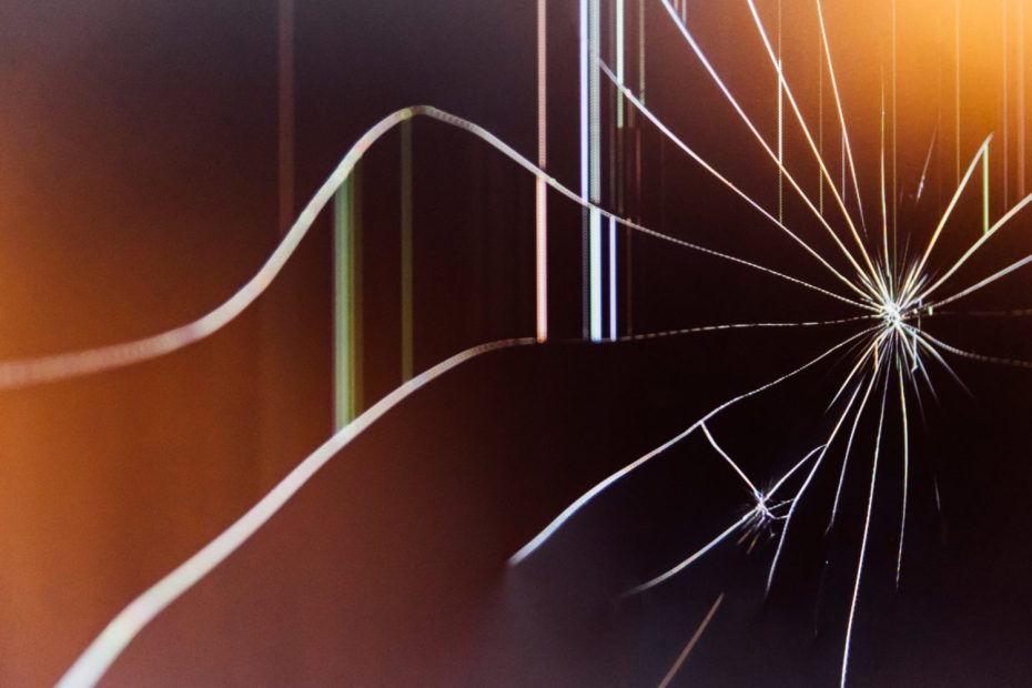 broken shattered glass break emotions fragile