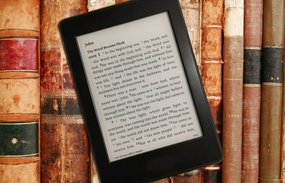 Kindle and old books