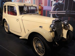 Singer Nine Coupe 1934 - Rootes Danmark